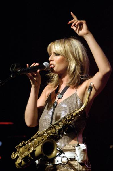 Smooth Jazz Therapy: Candy Dulfer CD Release Party At The