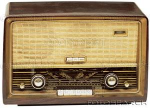 Old-fashioned-radio